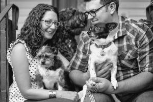 Seattle entrepreneurs Eleanor Blackford and Matthew Davis.