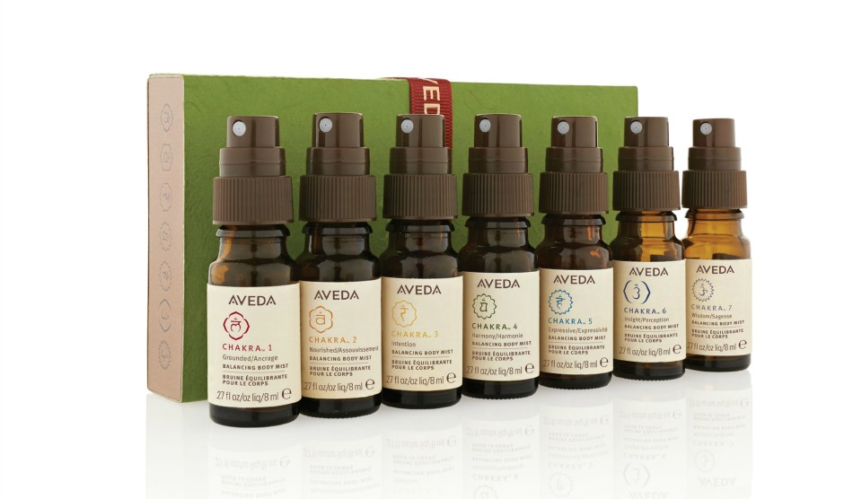 Aveda Chakra oils_full travel set